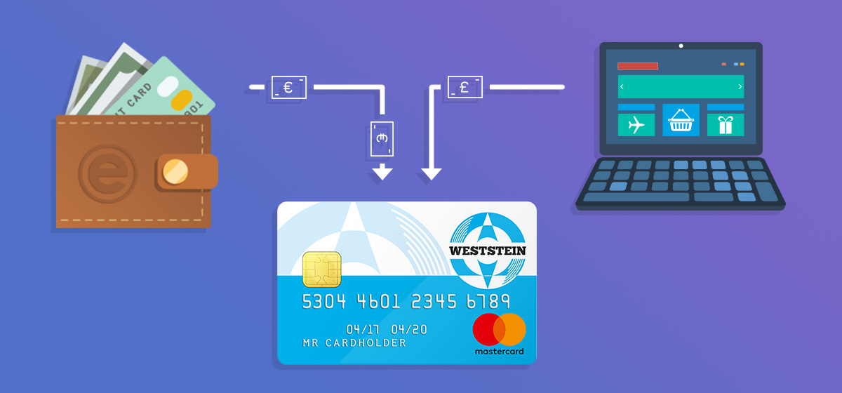Withdrawing money from e-wallet