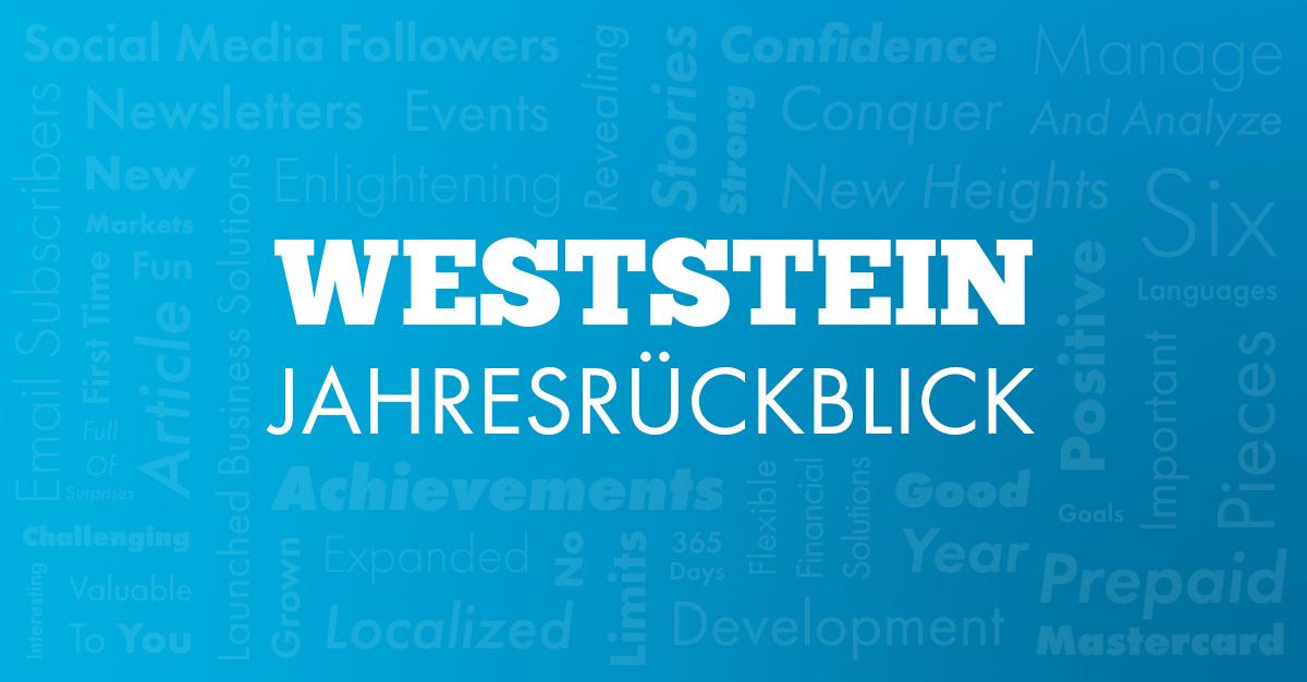 WestSteins Jahresrückblick