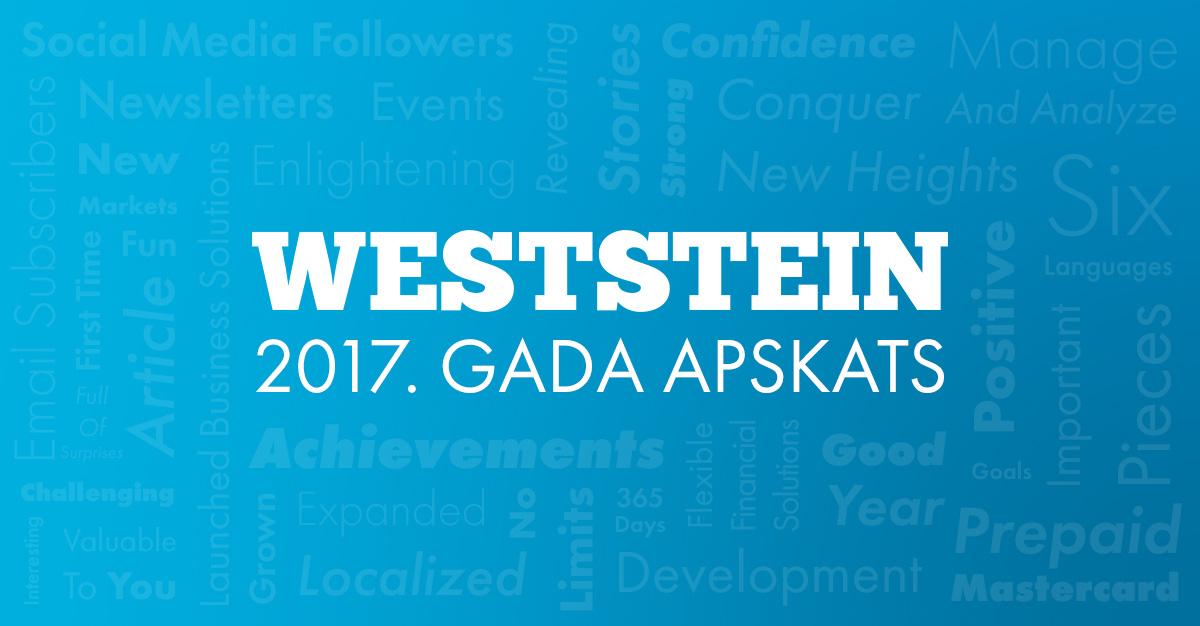 WestStein 2017. gada pārskats