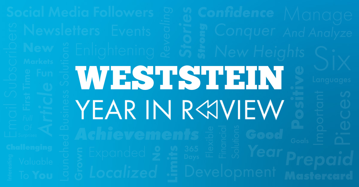 WestStein Year in Review