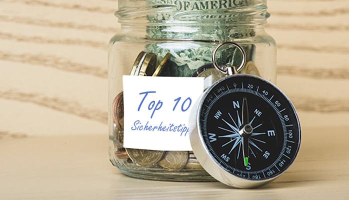 Security tips for finance DE