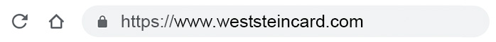 Log in to Weststein account